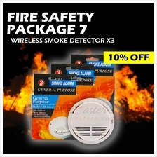 Fire Safety Package 7 (Smoke Alarm Detectors Value Pack)