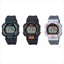 CASIO STL-S300H STANDARD digital solar stopwatch 100-lap resin strap