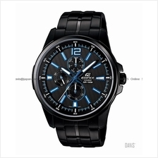 CASIO EF-343BK-1AV EDIFICE multi-hand active racing SS bracelet black