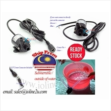 6v/12V DC mini water pump aquarium solar fountain 230L/h Submersible CPU Cooli