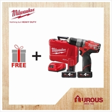 Milwaukee M12FUEL Cordless Battery Compact Impact Drill Driver CPD-402C