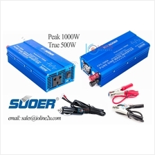 SUOER FPC-500A 1KW/500W Pure Sine Wave 12v to AC 230v power inverter 1000W