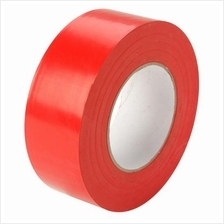 Floor Tape 48mm x 30m Red Zebra Tape