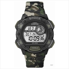 TIMEX T49976 (M) Expedition Shock Chronograph Alarm resin camouflage