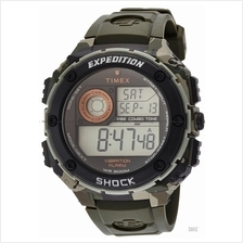 TIMEX T49981 (M) Expedition Shock Vibration Alarm resin green camo