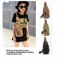 2016 Korean Canvas Bag /Handbag Minimalist Fashion Casual Men's Bag