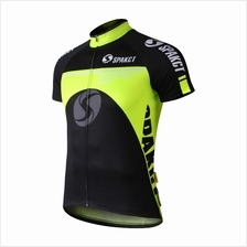 SPAKCT Limited Edition Fluorescence Green Short Sleeve Cycling Jersey