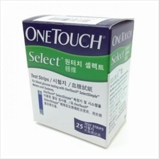 One Touch Select Test Strip (25 Strips)