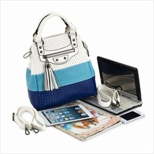 [Avenue86] Korean Fashion Tassel Hollow Stitching Handbag