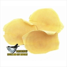 NATURAL YELLOW TONGKAT ALI ROOT SLICES VACUUM PACKING 500 GRAM