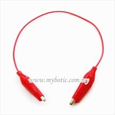 Wire with Crocodile End Clip (Red)