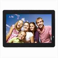 14 inch LED Display Multi-media Digital Photo Frame with Holder & Musi