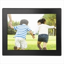 8 inch LED Display Multi-media Digital Photo Frame with Holder & Music