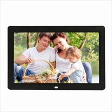 12 inch LED Display Multi-media Digital Photo Frame with Holder & Musi