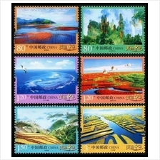 CHINA 2013 R32 The Beauty of Mainland China stamp 6v MNH
