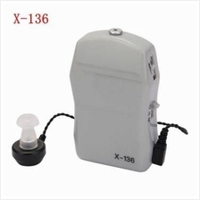 X-136 Pocket Wired Box Hearing Aid Adjustable Sound Amplifier Receiver