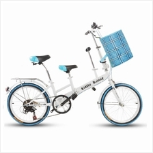 Easy Folding 6 Speed Gear Hybrid Family Bike (20 inch)