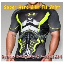 Super Hero Slim Body Fit Compression Shirt baju - Superhero 5