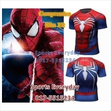 Super Hero Slim Body Fit Compression Shirt baju - Transformers 7