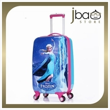 Frozen 20 Inches Luggage Trolley Roller Baggage Travel Suitcase Bag