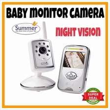 LCD Wireless Baby Camera Monitor Night Vision Voice and LCD CCTV