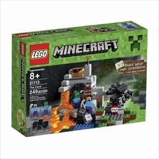 LEGO Minecraft The Cave 21113 Playset - Get it tomrrow