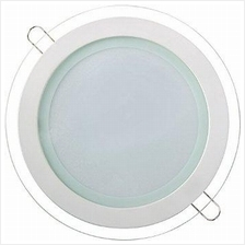 12w Led Round Glass Panel Downlight Light