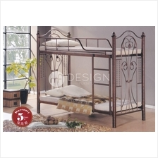 MF Design Floretta Double Decker Queen Size Iron Bed