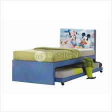 MF Design Mickey Mouse Bunk Divan Bed (Single)