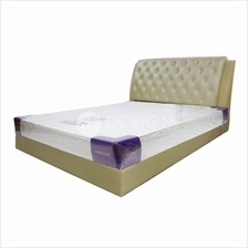 MF Design High Quality Damask Quilting 8 Inch Queen Size Mattress