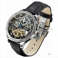 INGERSOLL IN2713BK Automatic Ulzana Day-Night M-Black Leather LE