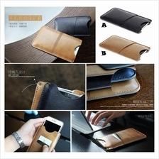 iPhone 6 6S Plus ROCK Pouch Card Pocket Wallet Leather Case Cover *FRE