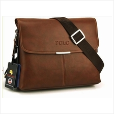 Videng Polo Men Shoulder Bag Handbag Laptop Bag Composite Leather Bag