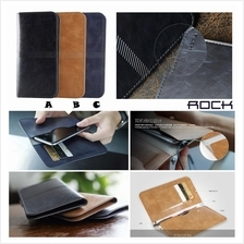 iPhone 6 6S Plus ROCK Wallet Card Pocket Leather Case Cover *FREE SP*