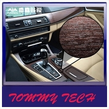 CAR interior wood LEATHER sticks foil stickers change color film