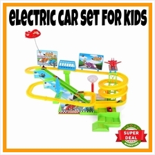 Electric Car Toys Playground Set for Kids Car Station Games for Kids