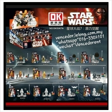Lego Compatible OK1047A Star Wars Series