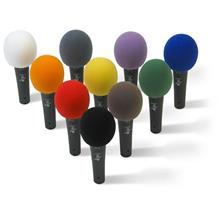 Colorful Microphone Front Hood Windscreen Sponge Foam Cover Holder