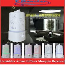 Ultrasonic Air Purifier Humidifier Aroma Diffuser Mosquito Repellent