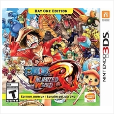 One Piece: Unlimited World: Day One Edition 3DS Day One Edition
