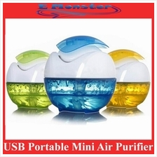 USB Mini Air Purifier Humidifier Aroma Diffuser with LED
