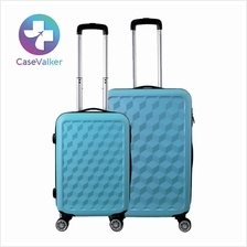 ABS Protector Water Cube Trolley Case Luggage Bag 20'' 24'' inch