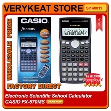 Electronic Scientific School Calculator CASIO FX-570MS
