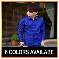 Korean Men's Shirt Slim Fit High Quality Shirt
