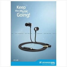 Sennheiser CX 3.00 . In-Ear Earphones . Detailed Sound . Free S&H