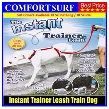 Instant Trainer Leash Trains Dogs Pets Over 30 Lbs Stop Pulling