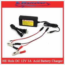 DC 12V 3A Car & Motorcycle Battery Charger, Auto Battery Charger