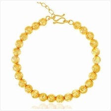 YOUNIQ Premium Bubbling 24K Gold Plated Bracelet