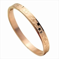 YOUNIQ Stary Night 18K Rosegold Titanium Bangle
