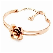 YOUNIQ Rosy 14K Rosegold Titanium Bangle
